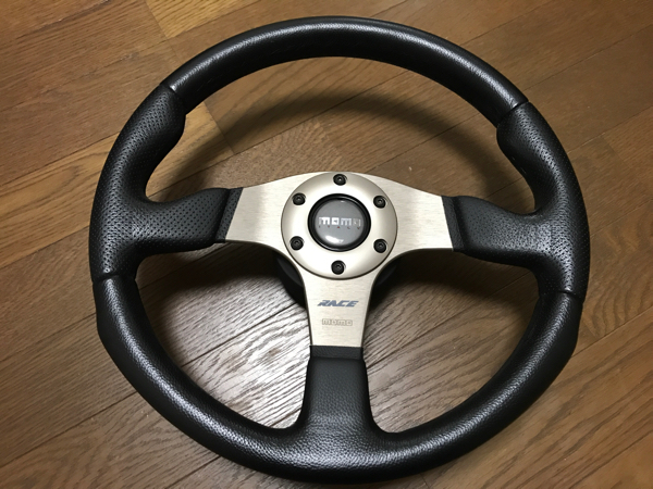 momo RACE 35φ カプチーノ スズキ ボス 付き 美品