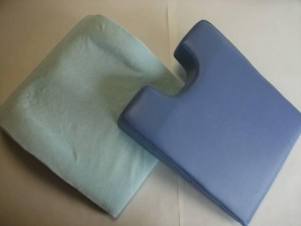 胸当てマクラ・足置きクッションのセット バストマット(カラーバスト)・サポートクッション(フットアップサポート)