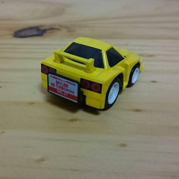 ちびっこチョロQ NO.27 スカイライン RS ターボ (R30) SKYLINE RS TURBO(R30)_画像2