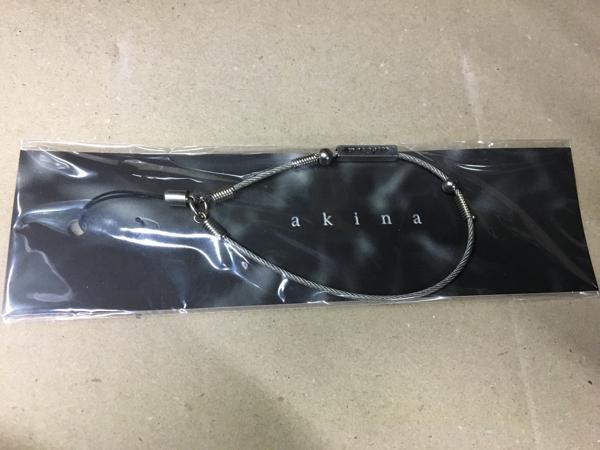 ★中森明菜★ストラップ(キーホルダー)2004年頃グッズ★新品未開封・送料無料② ライブグッズの画像