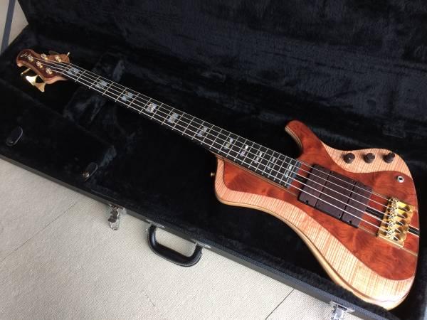 【ESP】Stream 24NTB SL5 ストリーム 5弦 ブビンガ 受注生産品【売り切り】