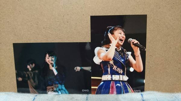 HKT48春の関東ツアー会場内限定プロマイド筒井莉子 ライブグッズの画像