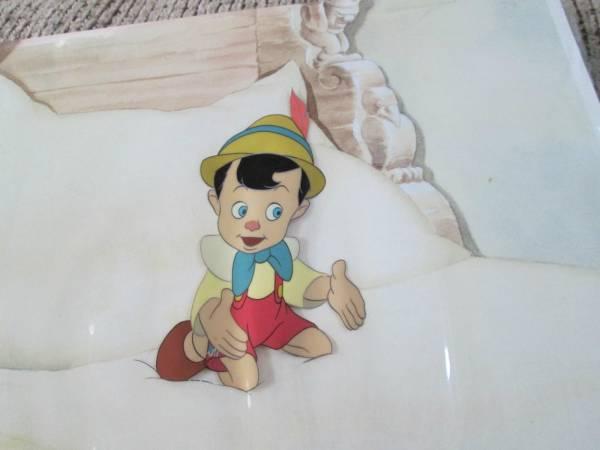 ディズニー ピノキオ 原画 セル画 限定 レア Disney ディズニーグッズの画像
