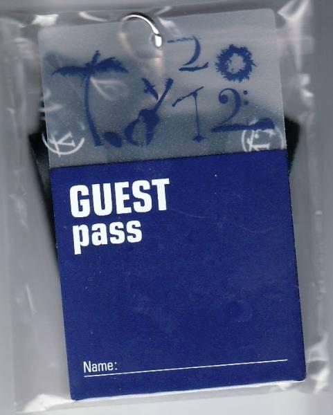 吉田拓郎★LIVE2012ツアーグッズ GUEST pass ※送料無料