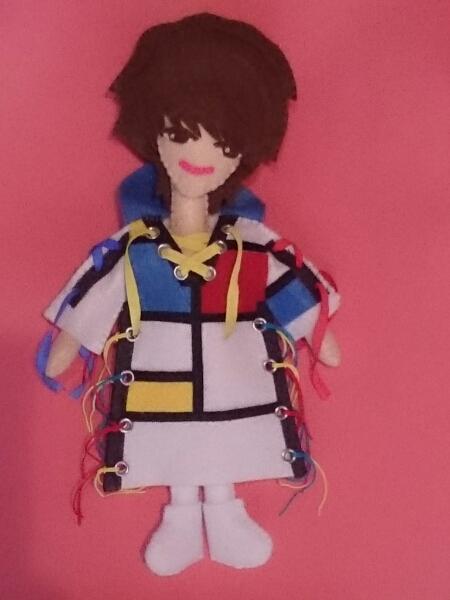 ハンドメイド☆NEWS小山慶一郎風☆フェルト人形
