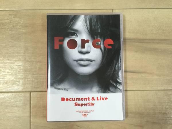 ★美品★Superfly Force~Document&Live~ DVD★ ライブグッズの画像