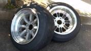 ワタナベ 8.5j Rタイプ 美品 旧車 深リム ハコスカ AE86