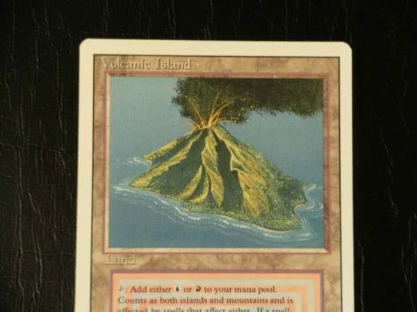 ☆MTG・英語版・リバイズド・Volcanic Island!_画像2