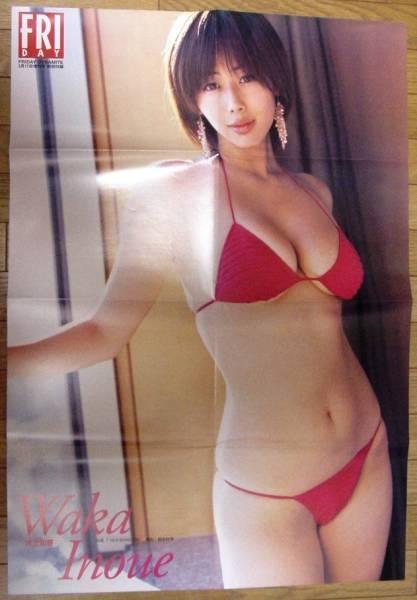 井上和香 岩佐真悠子、小倉優子、森下千里、愛川ゆず季 の両面ポスター (雑誌の付録)、 グッズの画像