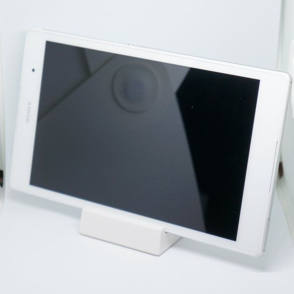 【SONY Xperia Z3 Tablet Compact SGP621 ホワイト SIMフリーUSED オマケ付き】_画像3