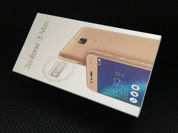 新品未開封品 ★ ASUS ZenFone 3 Max ZC520TL-GD16 SIMフリー [ゴールド]