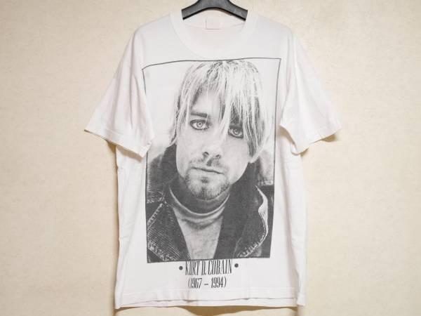 1994年製ライセンス カートコバーン Tシャツ XL KURT COBAINニルヴァーナNILVANA FOGフォグFEAR OF GODフィアオブゴッドVINTAGEビンテージ