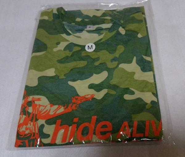 hide 「ALIVE THE MOVIE」迷彩 Tシャツ Mサイズ