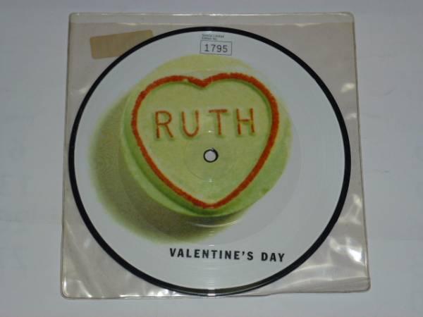 "7"" / RUTH / VALENTINE'S DAY / HE SAID SHE SAID / ピクチャー盤 / 限定盤号;1795番 / 1996年盤 / 7ART 5 / UK盤 / 試聴検査済み_透明ビニールジャケットで、撚れ有り"