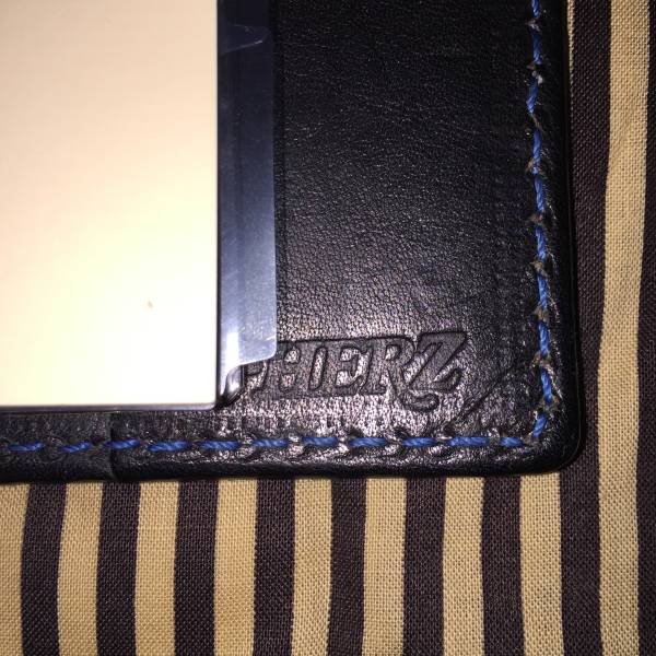♪送料無料 ヘルツ HERZ バイブルサイズ システム手帳 ブラック♪_画像2