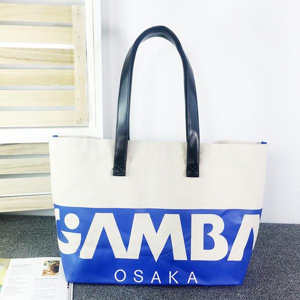 【新品】 ガンバ大阪 ファンクラブ限定 大容量トートバッグ ゴールド会員限定商品 グッズの画像