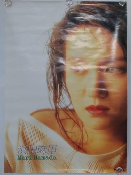 未使用 浜田麻里 TOMORROW 1991年 アルバム特典 ポスター CD販促 ビンテージ レトロ B2