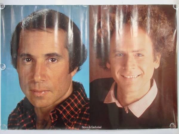 非売品 激レア S&G サイモン&ガーファンクル Simon&Garfunkel レコード特典 ポスター 販促 ビンテージ 昭和レトロ 希少 未使用 A1