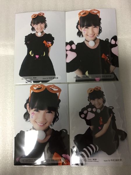 HKT48 今村麻莉愛 月別生写真 2016年10月 October 復刻版 コンプ ★2017年 福袋 当選品★ ライブグッズの画像