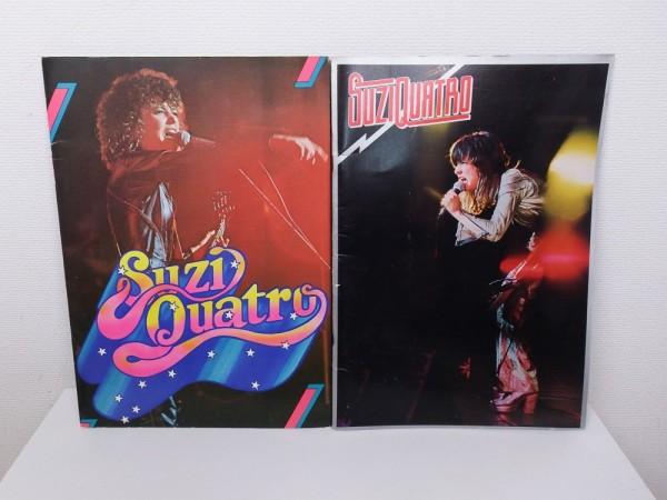《2冊セット》 スージークアトロ ★ 1976年&1977年 ★ 来日公演パンフ