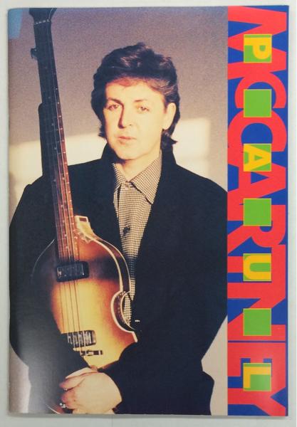 BOOK/PAUL McCARTNEY/ ワールド・ツアー1989/90 来日パンフ (i908)