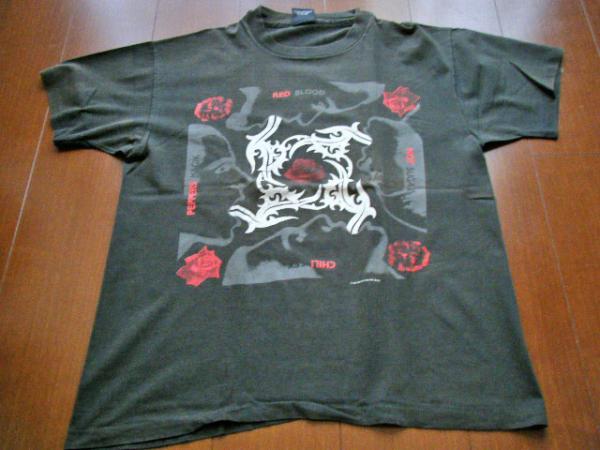 XLサイズ★貴重!当時物!1992年 オリジナル レッチリ RHCP Tシャツ ジョン アンソニー フリー チャド ロックT ROCK