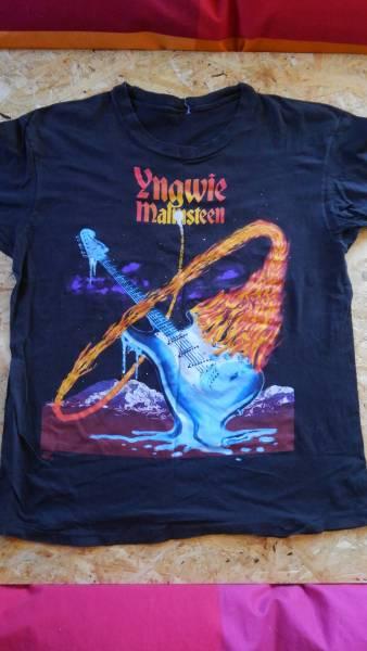 イングヴェイマルムスティーン 1992年 ファイアー&アイス ツアーTシャツ(貴重品)