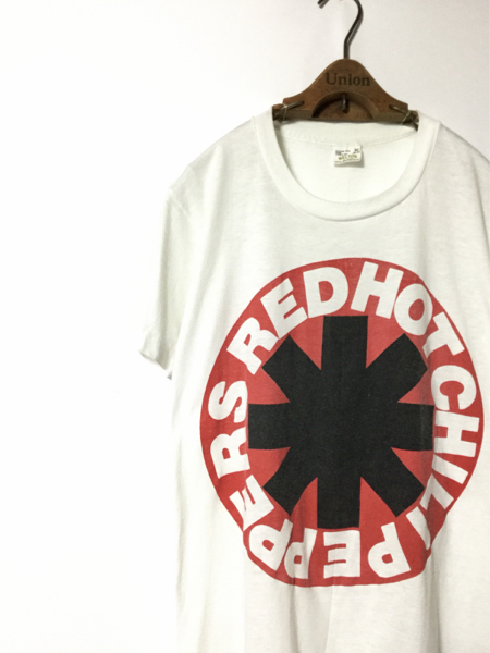 80年代 オリジナル RED HOT CHILI PEPPERS レッド ホット チリ ペッパーズ 初期 Tシャツ ( BELTON M ) レッチリ
