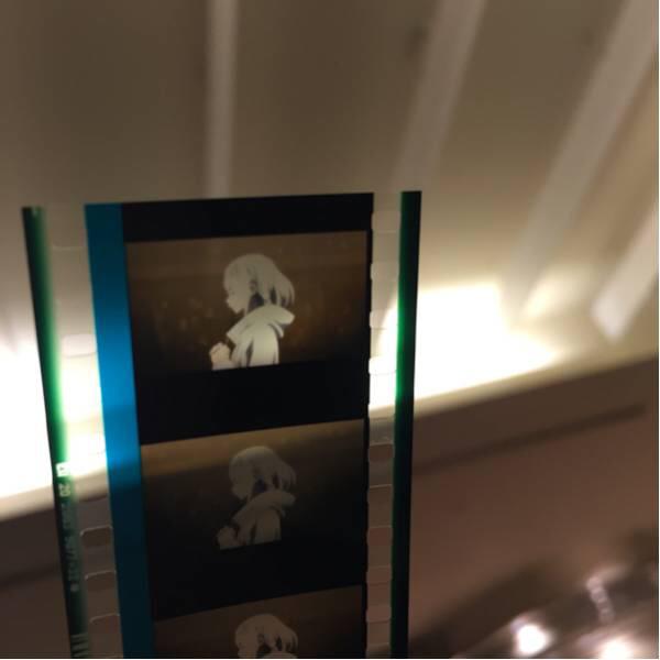 [美品]ソードアートオンライン 映画フィルム ユナ ラスト歌うシーン グッズの画像