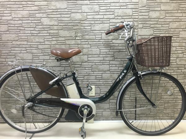 ヤマハ パス 8.1Ah (リチウム) 電動自転車 アシスト 良好