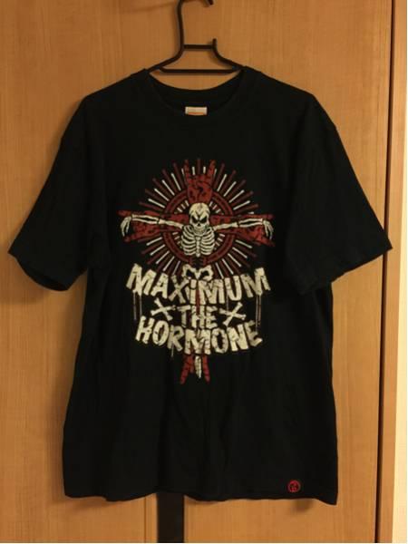 マキシマムザホルモン×ROLLING CRADLE Tシャツ サイズL KILL ALL ROCK IMPO PEOPLE MAXIMUM THE HORMONE ライブグッズの画像