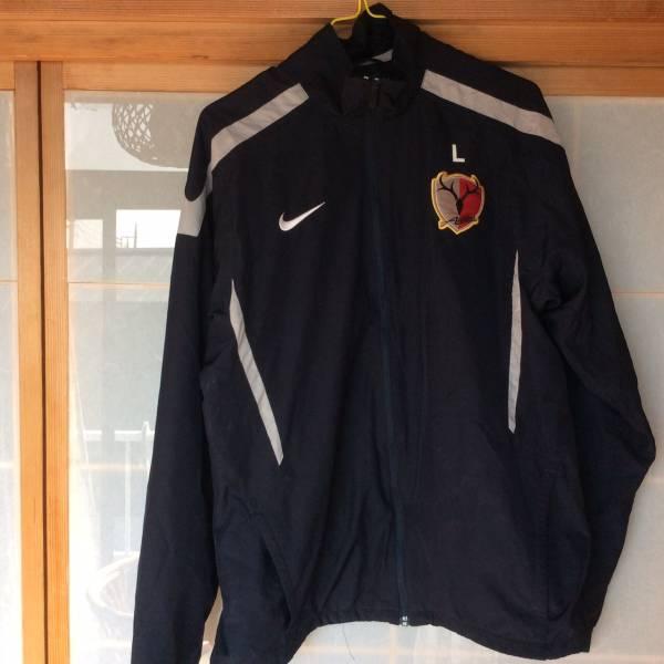 鹿島アントラーズ選手支給品 トレーニングジャケット サイズL グッズの画像