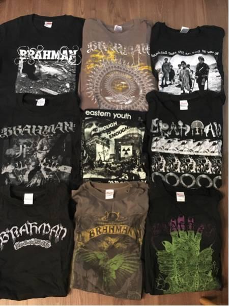 BRAHMAN Tシャツ 9枚セット ライブグッズの画像