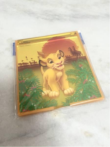 可愛い♪新品未開封ライオンキング折りたたみミラー折りたたみ鏡 ディズニーグッズの画像
