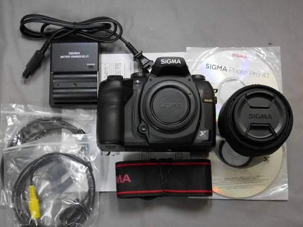 ■367美品★シグマ SD15 + 30mm F1.4 レンズセット ポートレート撮影は最高! ■