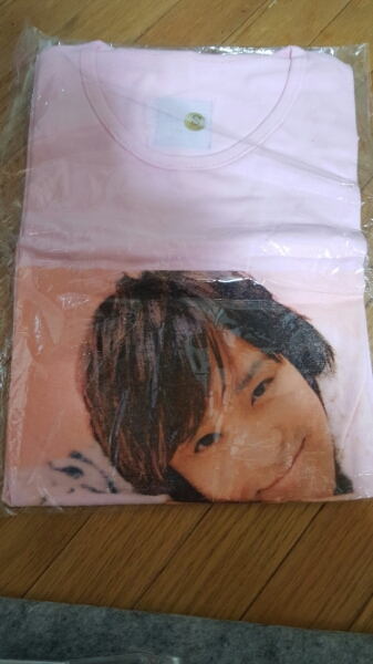 John-Hoon非売品TシャツSサイズ コンサートグッズの画像