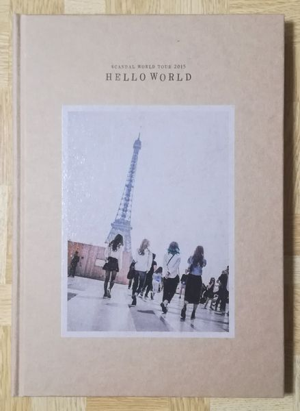 フォトブック「SCANDAL WORLD TOUR 2015 HELLO WORLD」
