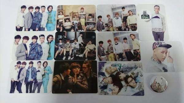 B1A4「トレカ 缶バッジ」ジニョン、シヌゥ、バロ、サンドゥル、ゴンチャン/日本公式グッズ/JAPAN OFFICIAL GOODS/BANA JAPAN ライブグッズの画像