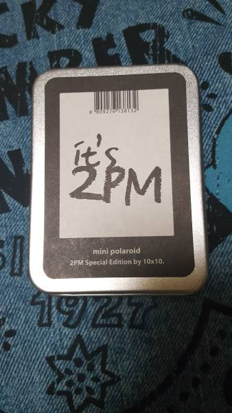 【2PM】 韓国 グッズ it's 2PM mini polaroid 【ミニポラロイド】