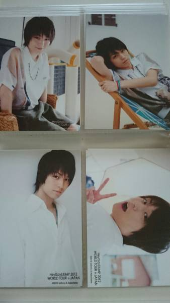 Hey!Say!JUMP 伊野尾慧 フォトセット 2012 WORLD TOUR in JAPAN コンサートグッズの画像