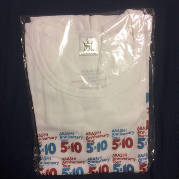 嵐 コンサートグッズ Tシャツ 5×10 おまけ付き コンサートグッズの画像