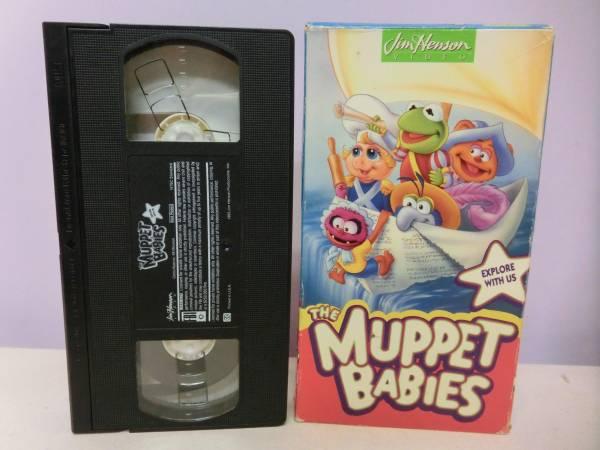 ザ・マペッツ マペットショー◆VHS ビデオテープ 48分 カーミット ミスピギー◆マペットベイビー Muppet Show Muppet Babies ジムヘンソン_画像1