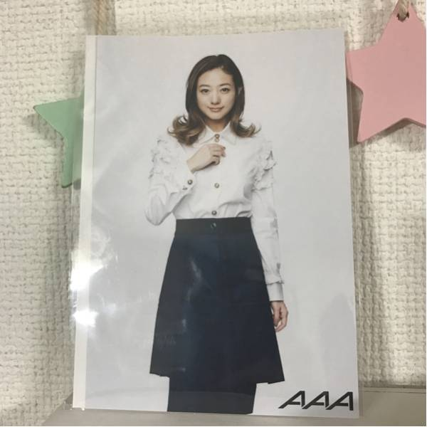 AAA 伊藤千晃トークショー 入場者特典ポストカード 未使用生ボイスコード付き