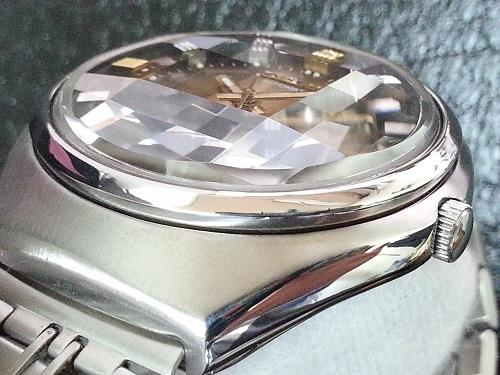 大野時計店 セイコー ロードマチック 5606-7300 自動巻 1973年10月製造 カットガラス 希少_画像2