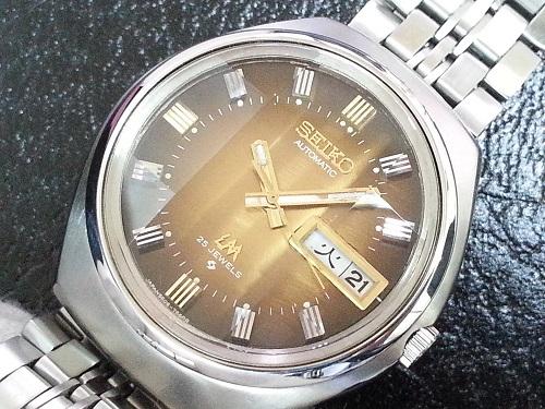 大野時計店 セイコー ロードマチック 5606-7300 自動巻 1973年10月製造 カットガラス 希少_画像1