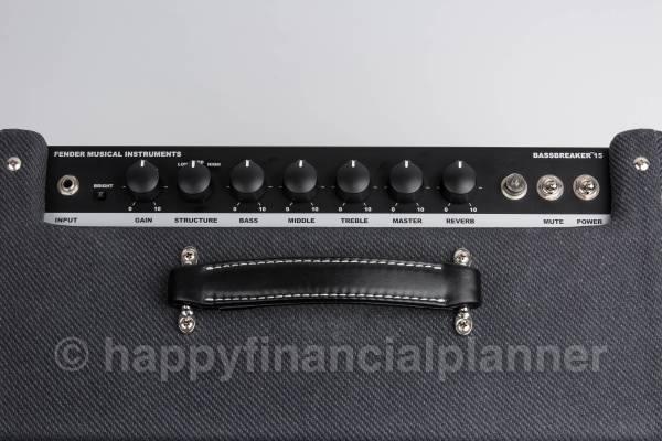Fender Bassbreaker 15 Combo ギター アンプ フェンダー