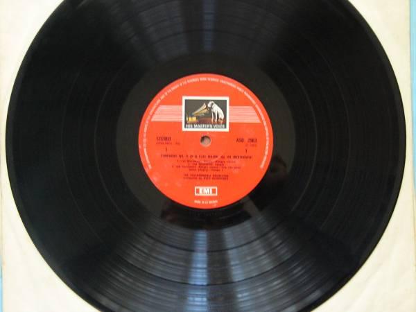 英EMI ASD2563 クレンペラー/フィルハーモニア管/ニルソン/ベートーヴェン:交響曲第4番&劇音楽「エグモント」抜粋_画像2