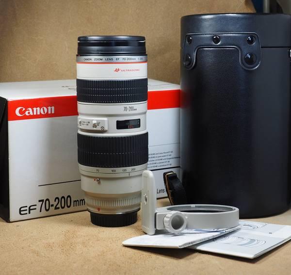 CANON キヤノン EF70-200mm f2.8L