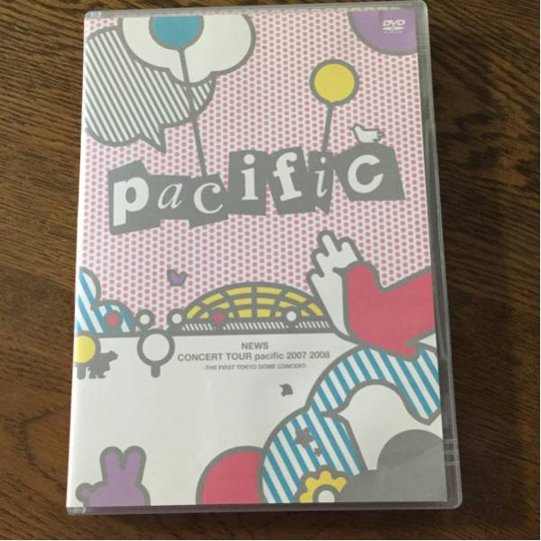 NEWS ライブDVD「pacific」通常盤 DVD2枚セット