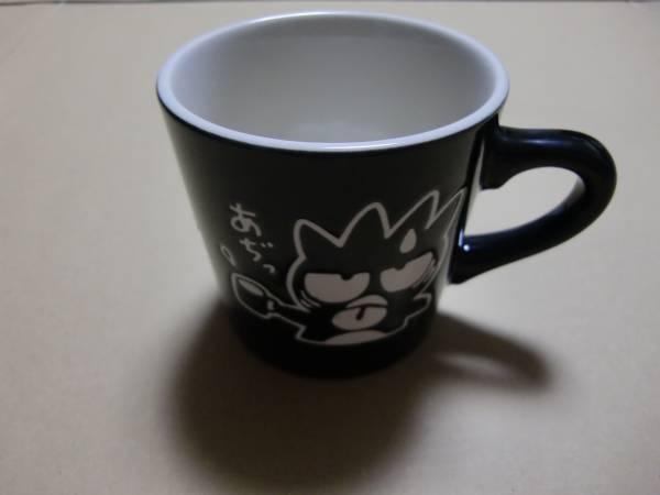 箱付 未使用 サンリオ キャラクター バッドばつ丸 イラスト マグカップ 陶器製 グッズの画像